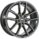 BBS XA Night Fever Black Diamond-Cut