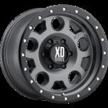 XD126 ENDURO PRO Matte Gray W Black Reinforcing Ring