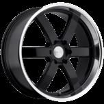 PONDORA GLOSS BLACK W/MACHINE CUT LIP