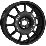 OZ Racing Leggenda MATT BLACK + WHITE LETTERING