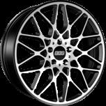 RX-R Satin Black Diamond Cut + Stainless Rim Protector