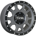 ION Wheels 135 Matte Gunmetal Beadlock