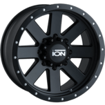 ION Wheels 134 Matte Black Beadlock