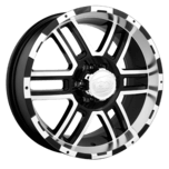 ION Wheels 179 Black Machined