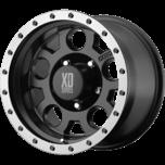 XD125 MATTE BLK W/ MACH. BEAD RING