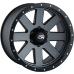 ION Wheels 134 Matte Gunmetal Beadlock