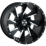 DISTORTED DISTORTED Satin Black / Milled Spokes