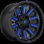 Hardline Gloss Black w/candy blue