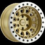PRIMM BEADLOCK MATTE GOLD W/MACHINED RING & BLACK BOLTS