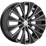 JAGER-ENIGMA JAGER-ENIGMA GLOSS BLACK MILLED SPOKE