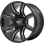 MO804 SPIDER Gloss Black Milled