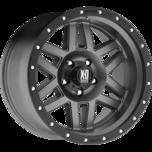 XD128 MACHETE Matte Gray Black Ring