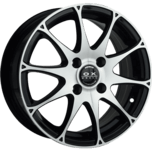 OX862 Machined Face Black