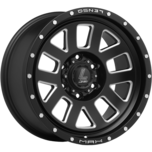 MAX-7 MAX-7 SATIN BLACK WITH EDGE SPOKE CHAMFER