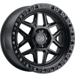 KELSO MATTE BLACK W/BLK BOLTS