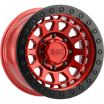 PRIMM BEADLOCK CANDY RED W/BLACK RING & BLACK BOLTS