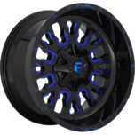 Stroke Gloss Black w/ Candy Blue