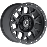 XD127 BULLY Satin Black With Reinforcing Ring