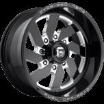 Turbo 8 Black Milled