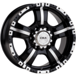 Monster 17x8 Gloss Black Machine Face