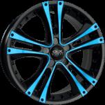 OX962A Black Blue Face