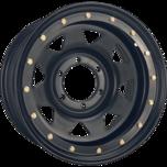 OX-Steel-BeadLock-Hub-Compatible Flat Black