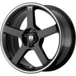 MR116 GLOSS BLACK W/ MACHINED FLANGE
