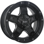T-10 Gloss Black - Milled Spoke Edge