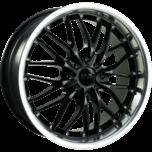 OX631A Machined Lip Black