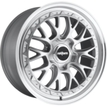 LSR Silver Machined