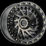 SHREDDER MATTE BLACK W/MACHINED DARK TINT