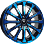 OX654 Black Blue Face