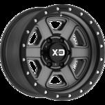 XD133 FUSION OFF-ROAD XD133 FUSION OFF-ROAD Satin Gray With Satin Black Lip