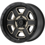 XD133 FUSION OFF-ROAD XD133 FUSION OFF-ROAD Satin Black Machined With Dark Tint Clear Coat