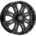 Raptor Large Cap Satin Black