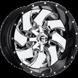 Cleaver 2-Piece Cleaver 2-Piece Chrome Centre Gloss Black Outer