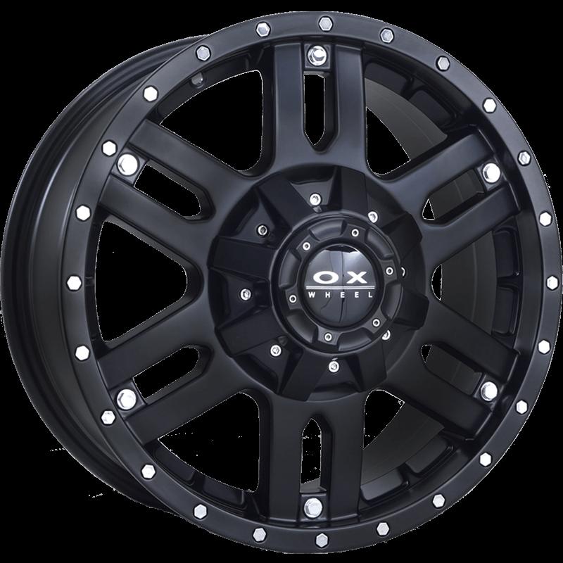 OX664 SUV Flat Black