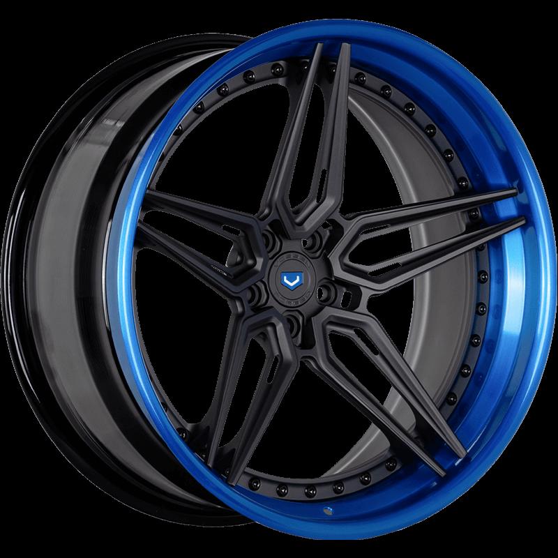EVO-1R (3-Piece)  Fountain Blue Angle