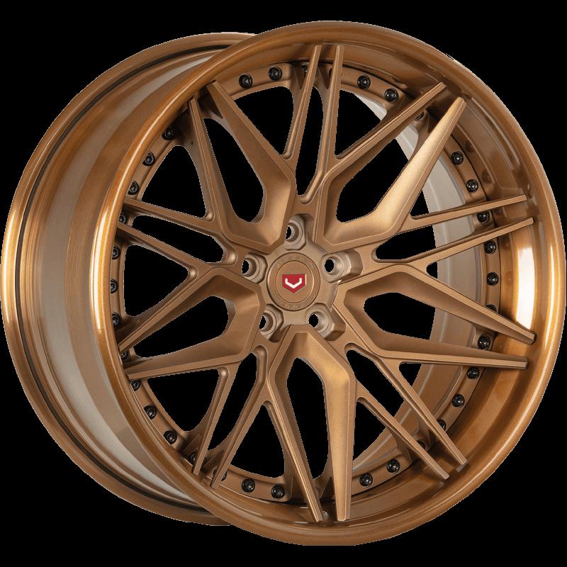 EVO-5 (3-Piece) Matte Brickell Bronze Angle
