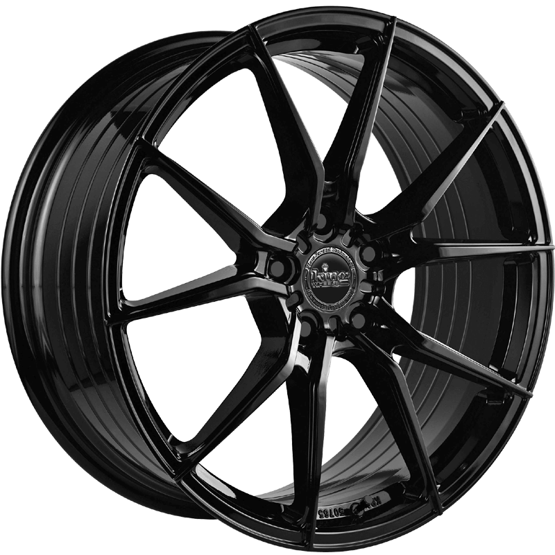 King Wheels Venom Gloss Black