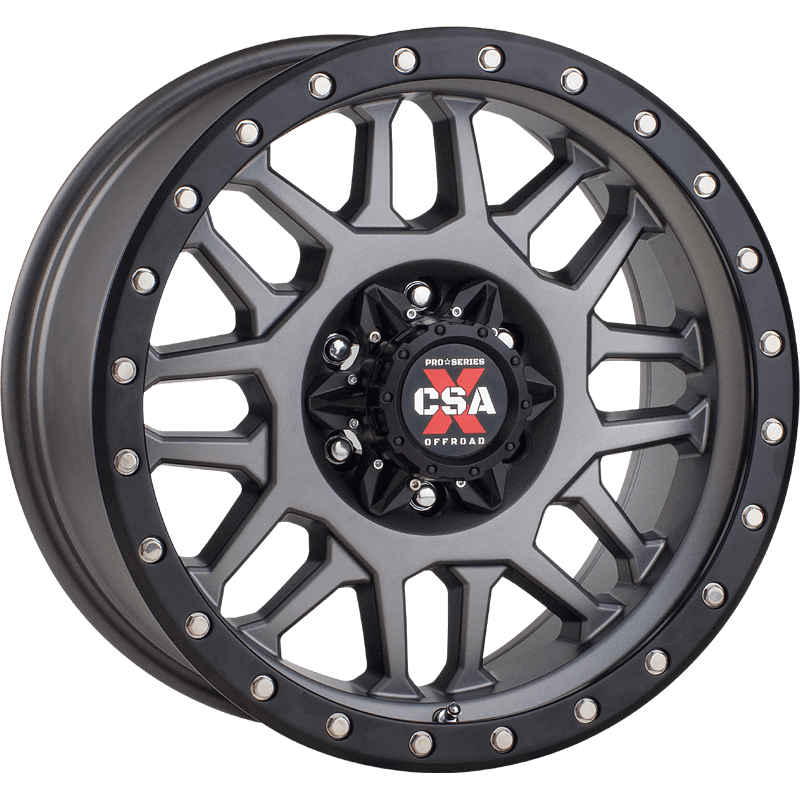 Combat CSA-X Satin Grey Black Lip