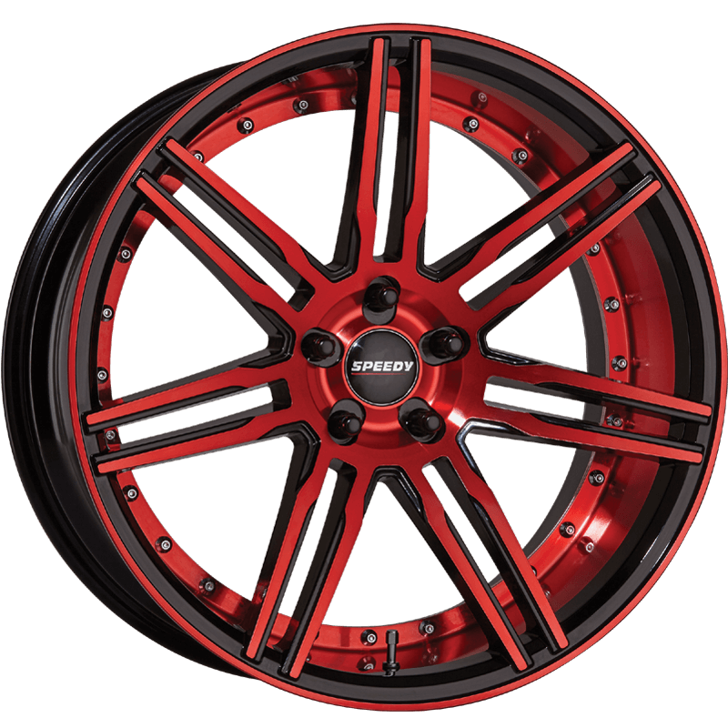 Invader CANDY APPLE RED/PIANO BLACK