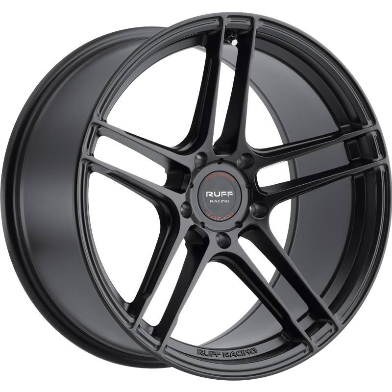RS1 Gloss Black Angle