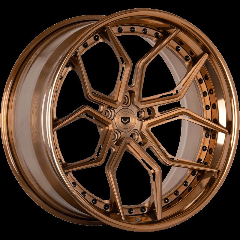 EVO-3R (3 Piece) Brickell Bronze Angle