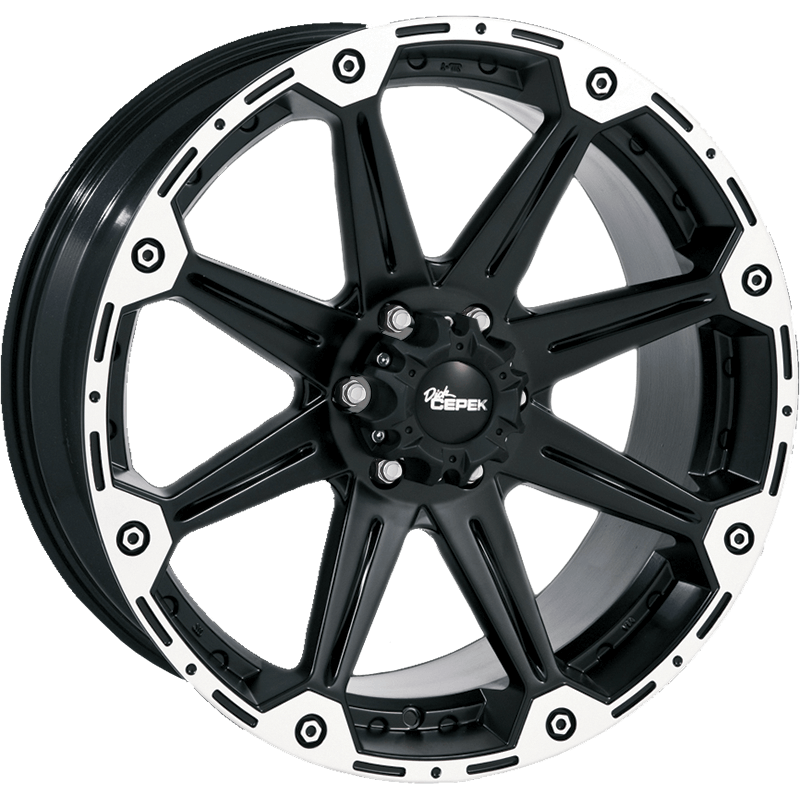 Torque Matte Black Machined