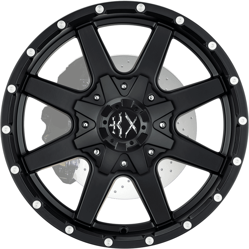 KX01 MATTE BLACK