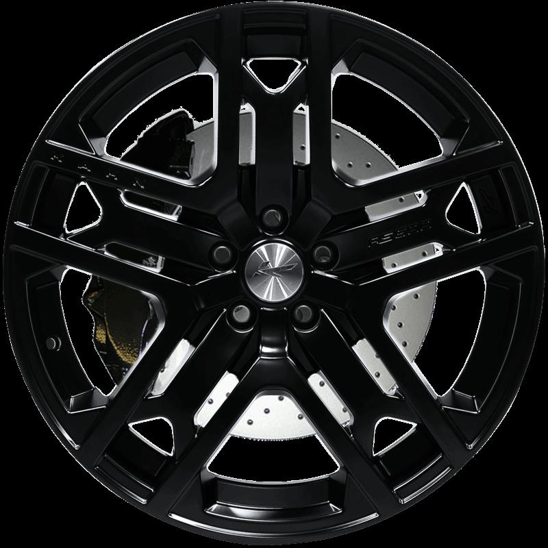 RS 600 Matt Black