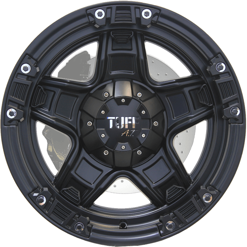 T-10KL Satin Black - Chrome Attachments