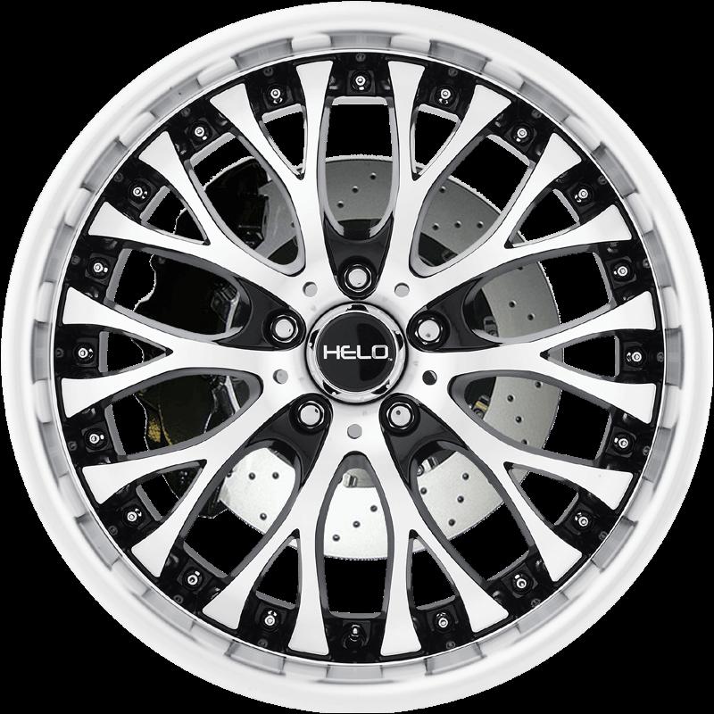 HE890 GLOSS BLACK W/ MACHINED FACE