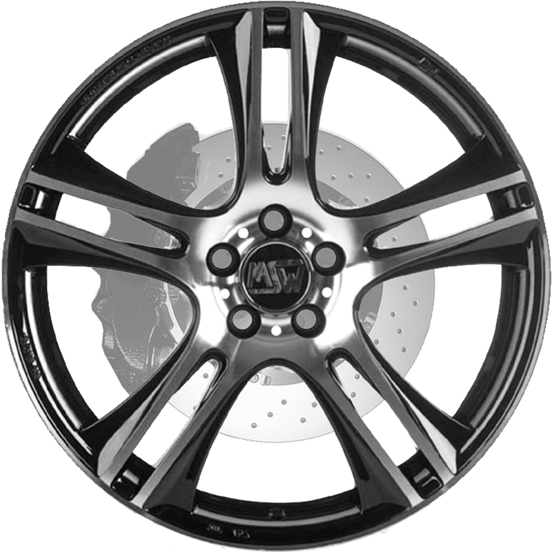 MSW 11 Gloss Black Full Polished